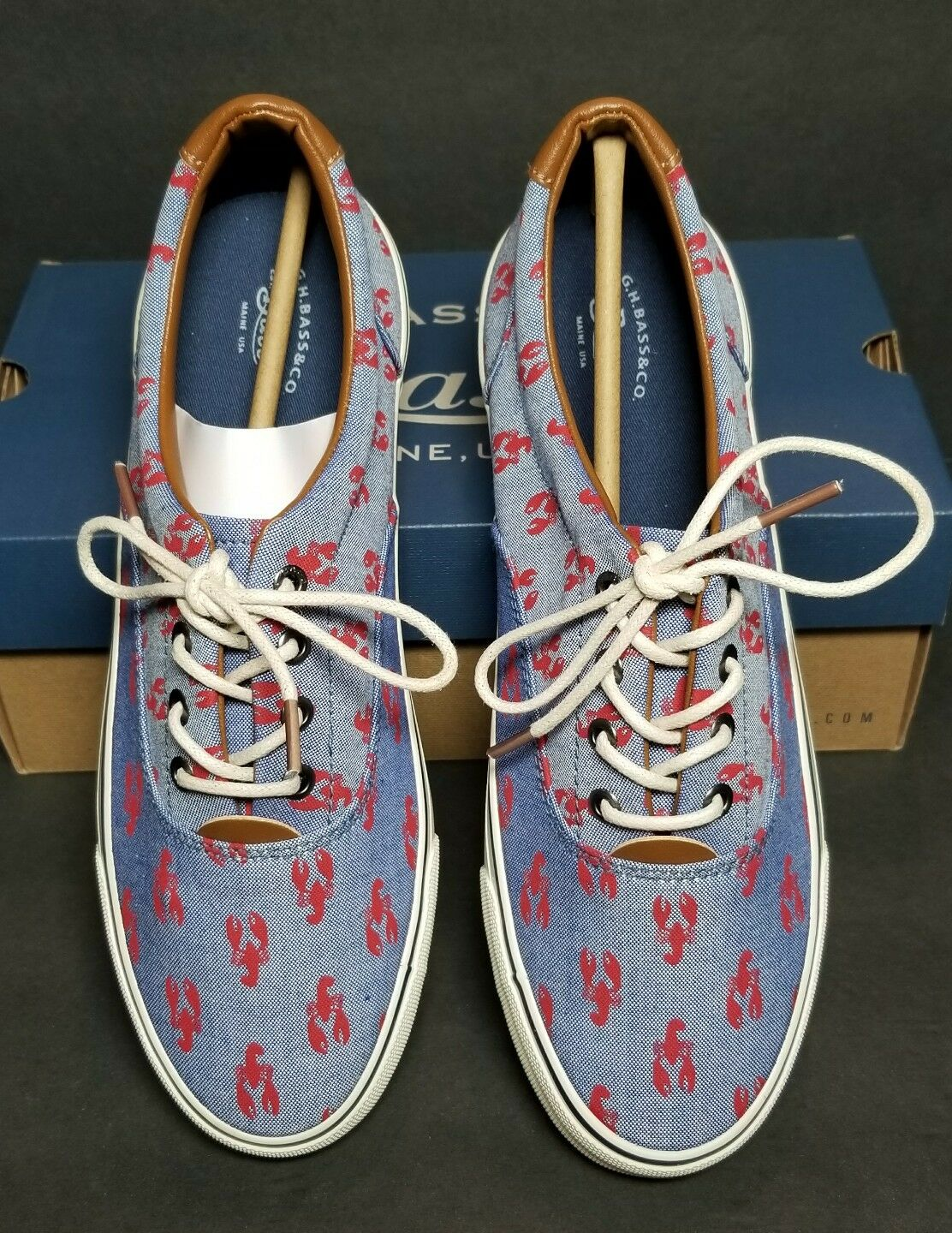 G H BASS SNEAKERS WOMEN'S MULTIPLE SIZES NEW / BOX ROT LOBSTER 0253-3522-075