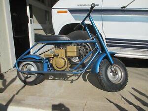 1960 Vintage Briggs & Stratton Bonham Tote Gote Collegiate Mini Bike Restored !!
