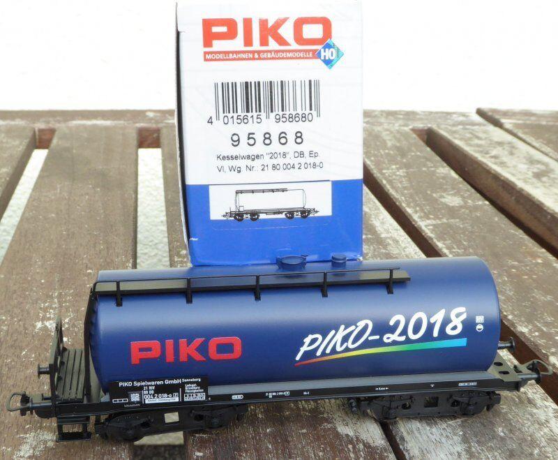 PIKO 95868 HO Kesselwagen ZZr mit Bremserbühne - Jahreswagen 2018 neuwertig, OVP