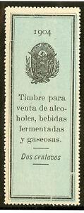 Salvador-Stamps-1904-Revenue-Excellent-Condition