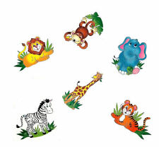 72 Zoo Animal TATTOOS temporary kids SAFARI birthday party favors