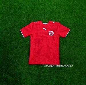 SWITZERLAND NATIONAL TEAM 2006 2008 HOME FOOTBALL SOCCER SHIRT JERSEY TRIKOT XS
