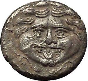 PARION-in-MYSIA-400BC-Gorgoneion-Medusa-Like-Head-Bull-Silver-Greek-Coin-i54079