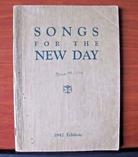 Songs For The New Day - 1942 Edition sheet music - Christian Gospel