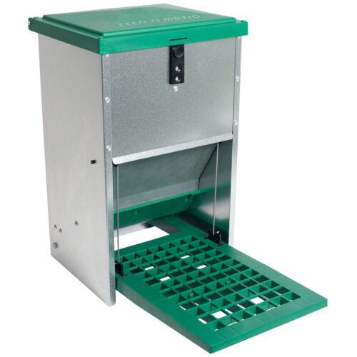 8 kg futterautomat con boca se produce feedomatic aves de corral alimento Automat Silo