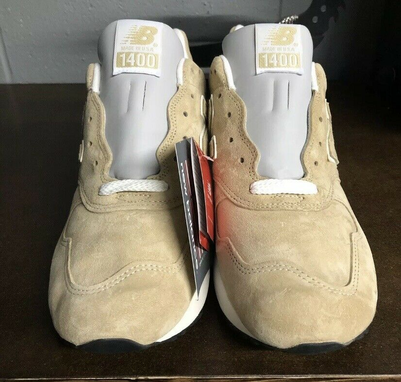 New Balance 1400 Suede Classic Beige Khaki Tan Made in USA M1400BE Size 11