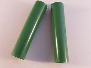 2-Pieces-Hirschmann-kd10-Embrayage-Vert-Isole-pour-4-mm-connecteur-2pcs