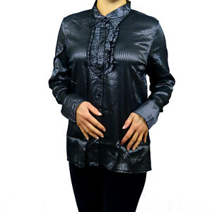 Plus-Size-Steampunk-Cotton-Victorian-Goth-Longsleeve-Formal-Shirt-18-20-22-24-26
