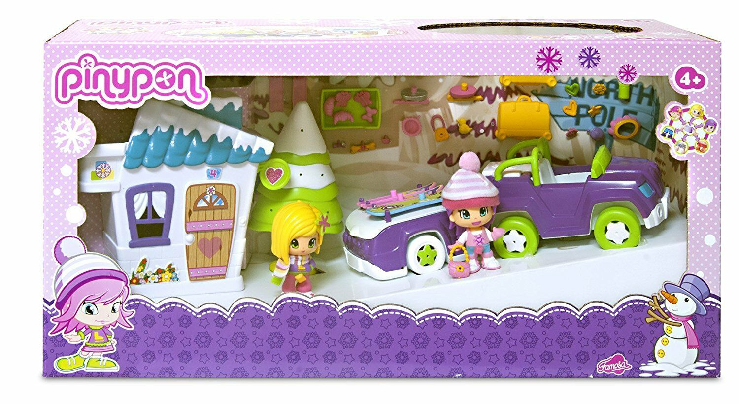 Famosa 700010550 - Pinypon Casita de la nieve - New and sealed