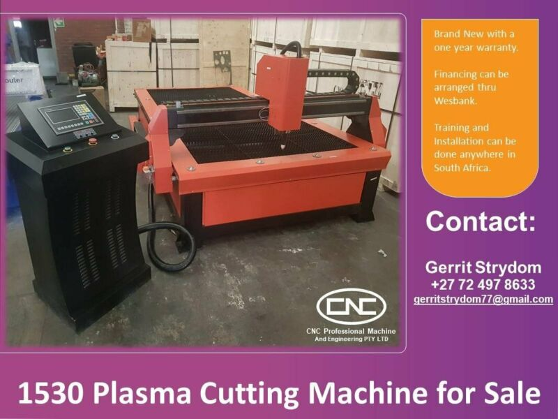 Plasma Cutting Machine for Sale