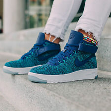 NIKE AIR FORCE 1 ULTRA FLYKNIT UK SIZE 5.5 EUR 39 WOMENS SHOES TRAINERS RARE