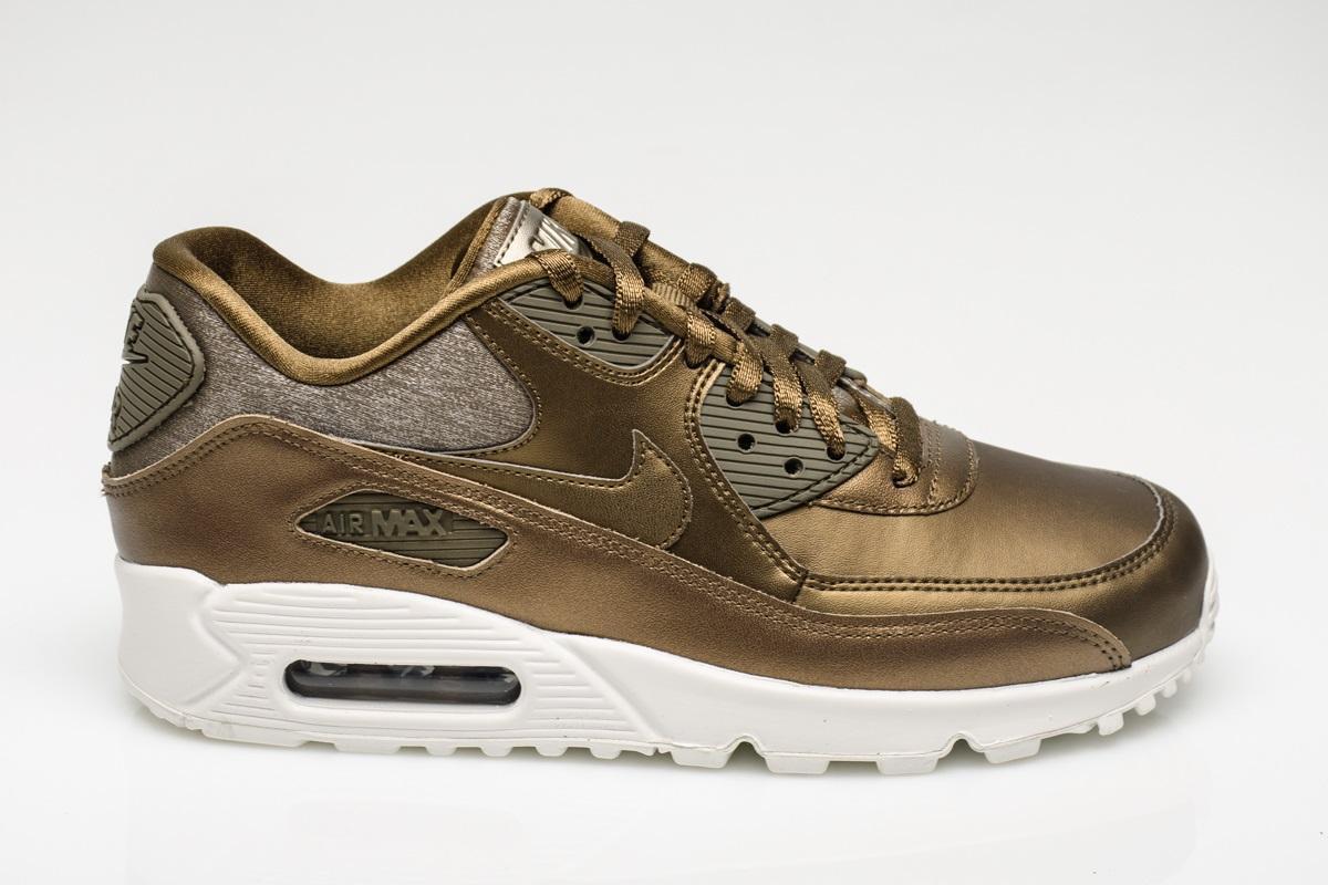 Damen Nike Air Max 90 Prm Bronze Bronze Bronze Braun Turnschuhe 896497 901   25a767