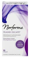 Norforms Suppositories Island Escape 12 Count