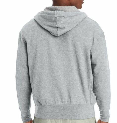 Details about  /Champion Mens Heritage Fleece Zip Hoodie Distressed C Logo Jacket S1232 L $55