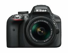 Nikon D3300 24.2MP Digital SLR Camera - Black w/18-55mm VR Lens