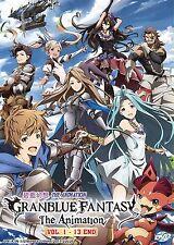 DVD Granblue Fantasy The Animation Vol. 1 - 13 End Anime BOXSET