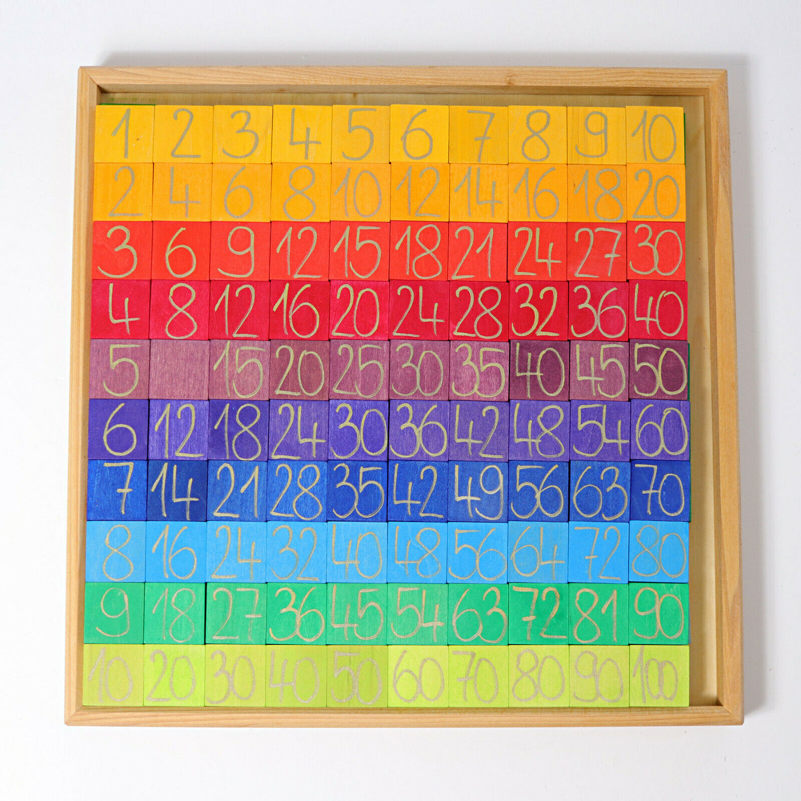 Grimm's Spiel und Holzdesign 42320 Rechnen mit Farben Farben Farben Lernen & Erfahren NEU ebfde5