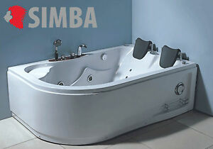 Vasca Da Bagno Ad Angolo : Whirlpool corner bath tub mod varadero spa cm hot tub