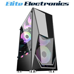 1st Player DK-3 ATX/Micro ATX Tempered Glass PC Computer Gaming Case M-ATX