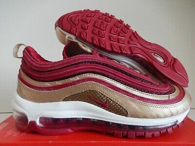 new concept 94276 2f198 NIKE AIR MAX 97 QS (QS) GS NOBLE RED-BLUR SZ 6Y-WOMENS SZ 7.5 [BQ4429-600]  192500250266 | eBay