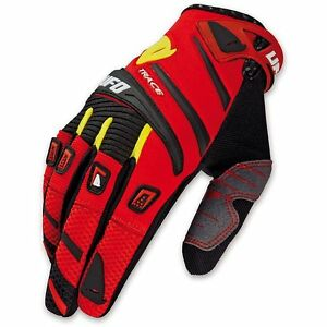 Guanti-cross-enduro-downhill-freeride-UFO-TRACE-ROSSO
