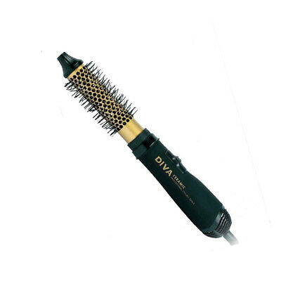 DIVA HOT AIR BRUSH 32mm Ceramic Barrel - Professional Electric Hair Brush HC40