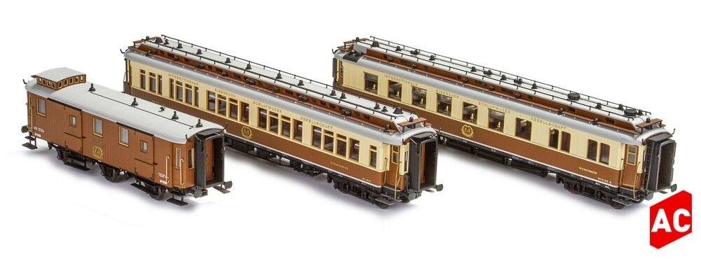 Hobbytrain 44021 - 3 Pcs. Ciwl Juego 2 Simplon-Express Ep.i H0-Ac - Escala Ho