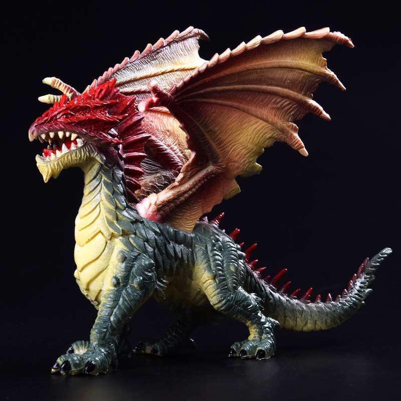 24cm Simulation Magic Dragon Dinosaurs colorful Animal PVC Action Figure Toy