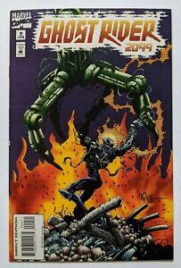Ghost-Rider-2099-9-Marvel-Comic-1994-Len-Kaminski-Kylie-Gagarin-Zero