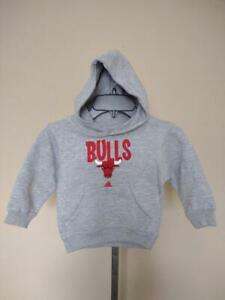 New-Minor Flaw Chicago Bulls Toddlers Size 2T Gray Hoodie