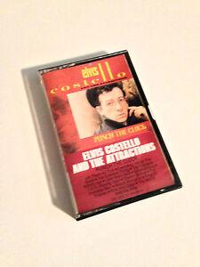 ELVIS-COSTELLO-Punch-The-Clock-Cassette-Tape-EX