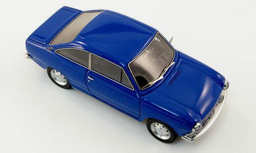 Wonderful Dutch modelcar DAF 55 COUPE 1971 - blu - 1/43 - lim.ed.300