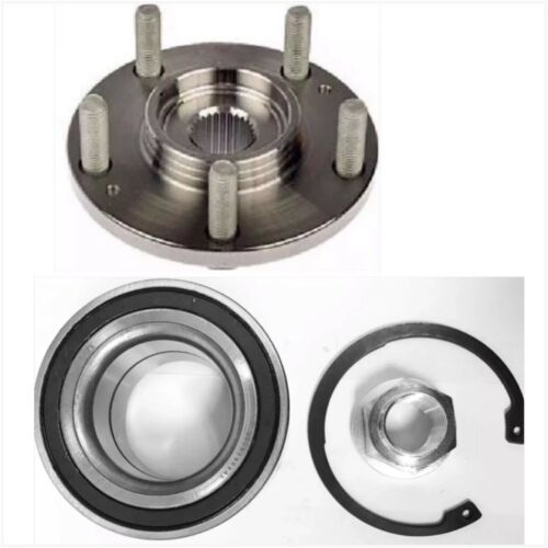 FRONT WHEEL HUB /& BEARING  FOR 2012-2016 FORD FOCUS C-MAX EACH FAST SHIPPING