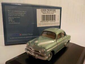 Model-Car-Vauxhall-Wyvern-Green-1-76-New