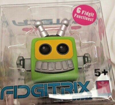 Entusiasta Fidgitrix Cubez - Antistress Con 6 Funzioni Fidgit - Teevee Verde - Nuovo