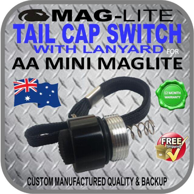 Mini Maglite AA Genuine Tail Cap Brand New