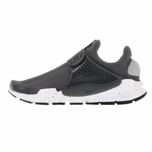 Nike-Sock-Dart-819686-003-Wolf-Grey-White-Men-039-s-Trainers-NEW-IN-BOX