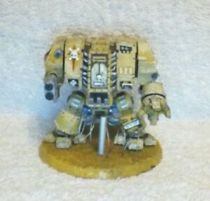 Warhammer 40k Space Marine Dreadnought painted