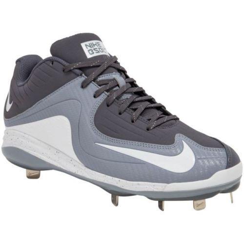 1fe9c43e9d8c Nike Air MVP Pro 2 Metal Baseball Cleats Mens 684685-011 Gray White 10 for  sale online