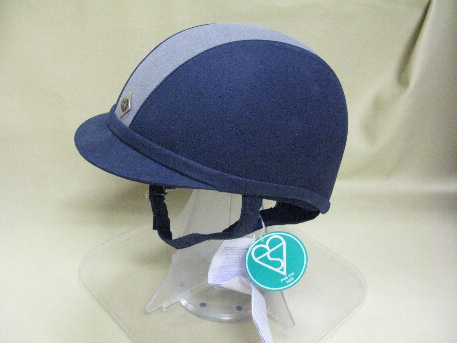 Charles Owen GR8 Azul Marino Plateado 71 8 o 58CM