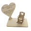 In-Loving-Memory-Mum-Sign-Wedding-Memorial-Personalised-Plaque-Table-Poem-Heart miniatura 32
