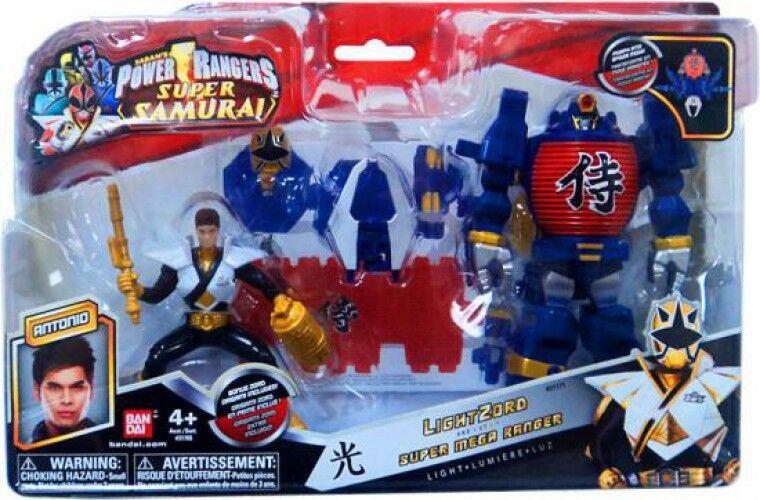 Super Samurai lumièreZord & Super  Mega Ranger Antonio Action Figure  limite acheter