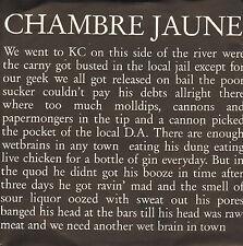 "CHAMBRE JAUNE - K.c. (1991 VINYL SINGLE 7"" DUTCH EXPERIMENTAL WAVE)"