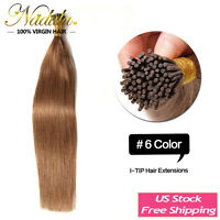 100s Pre Bonded Real Human Hair Extensions Keratin Stick I Tip Fusion Glue 1g/s