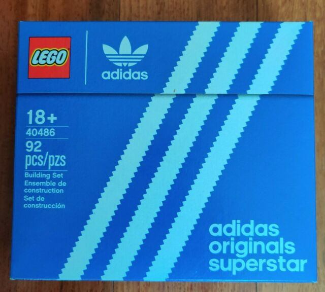 LEGO 40486 Mini Adidas Originals Superstar Sneaker Brand New Sealed Free Shiping
