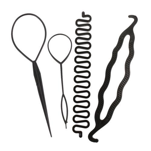 Haarschmuck DIY Haar Styling Tool Pferdeschwanz Haarfrisur Werkzeug Kit
