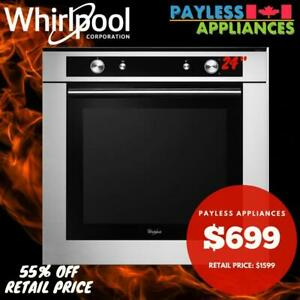 Whirlpool WOS52EM4AS Stainless Steel 24 Single Wall Oven Convection City of Toronto Toronto (GTA) Preview