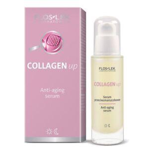 Anti-Aging-Serum-Tag-Nachtpflege-Antifalten-mit-Collagen-Kollagen-Gesichtsserum