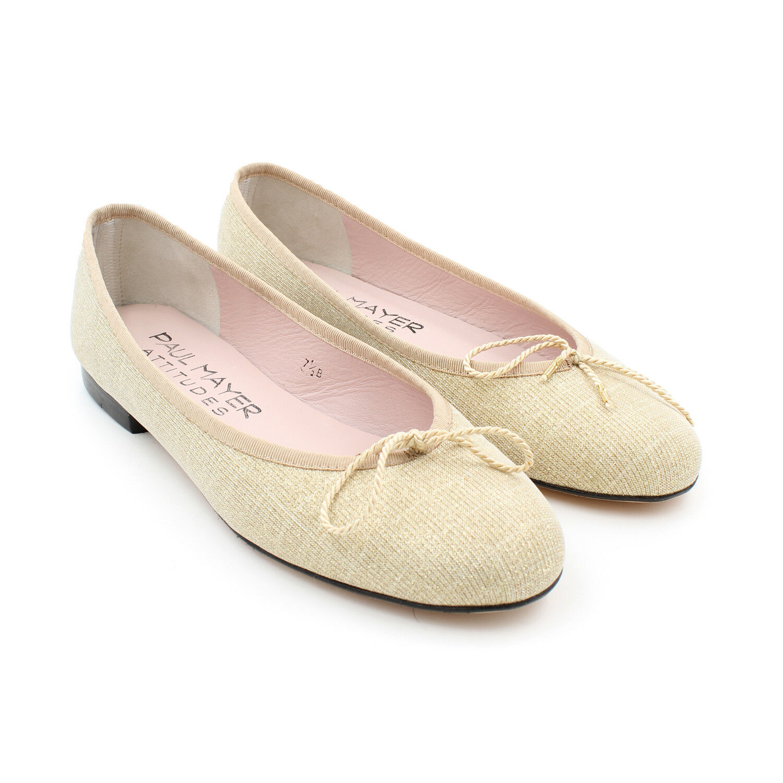 Attitudes by Paul Mayer Women's Bingo Ballet Flats Store Store Store Return (gold, 7.5 B) 3e1acf