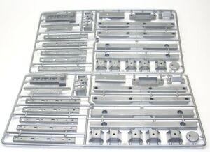 Anbauteile TT2® Tamiya 1:14 Semi Trailer Flachbettauflieger 0005605 D-Teile